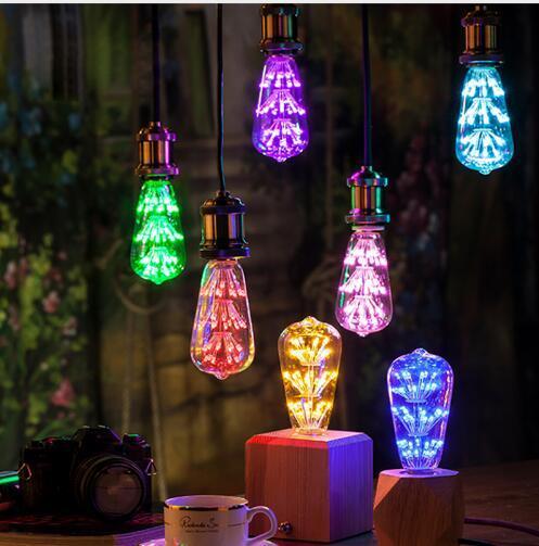 MTX New Filament bulb CCT Decorative Long Lasting Vintage Retro Edison LED Bulb Light 110V 220W