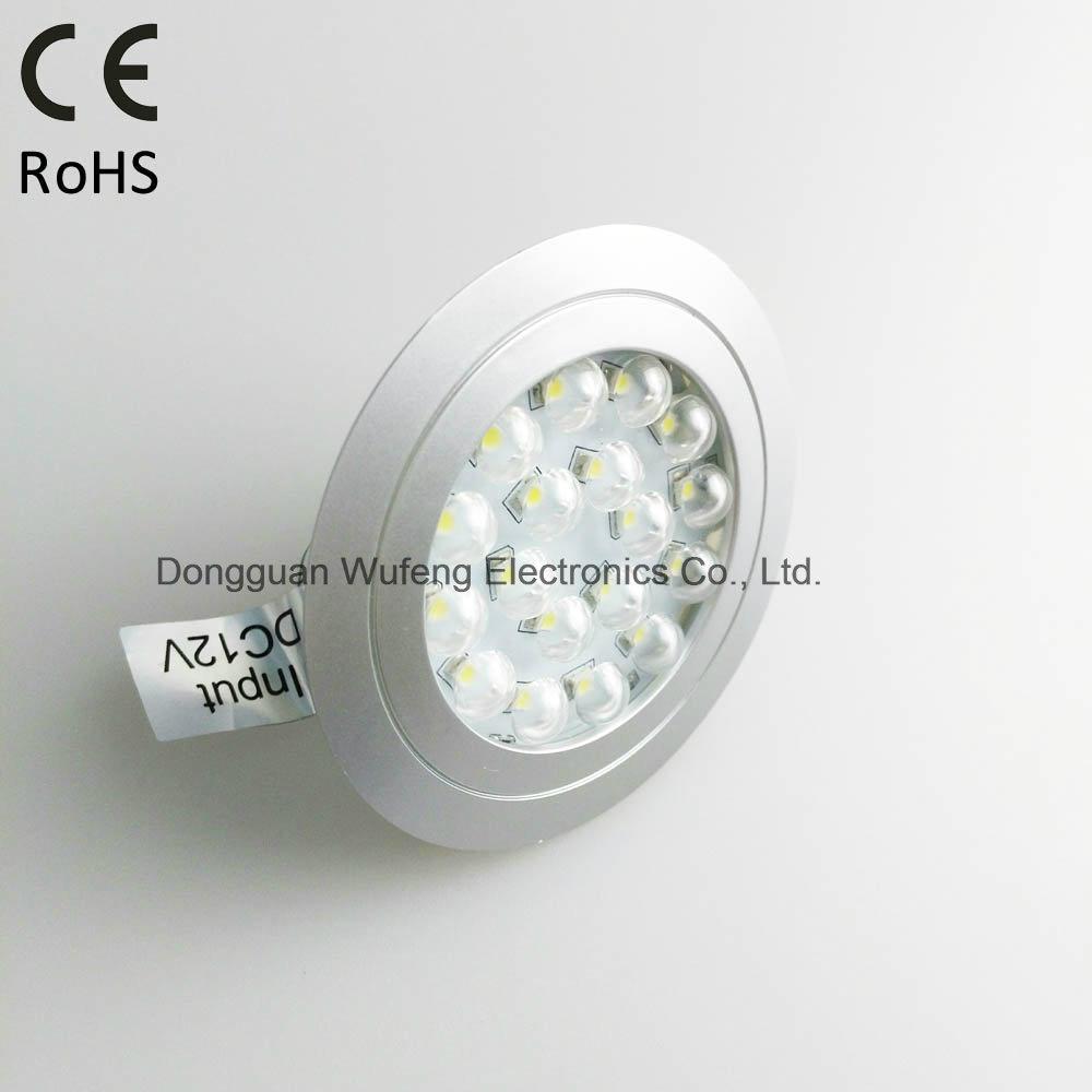 Recessed Ultrathin LED Inner Cabinet Light for Wardrobe Decoration