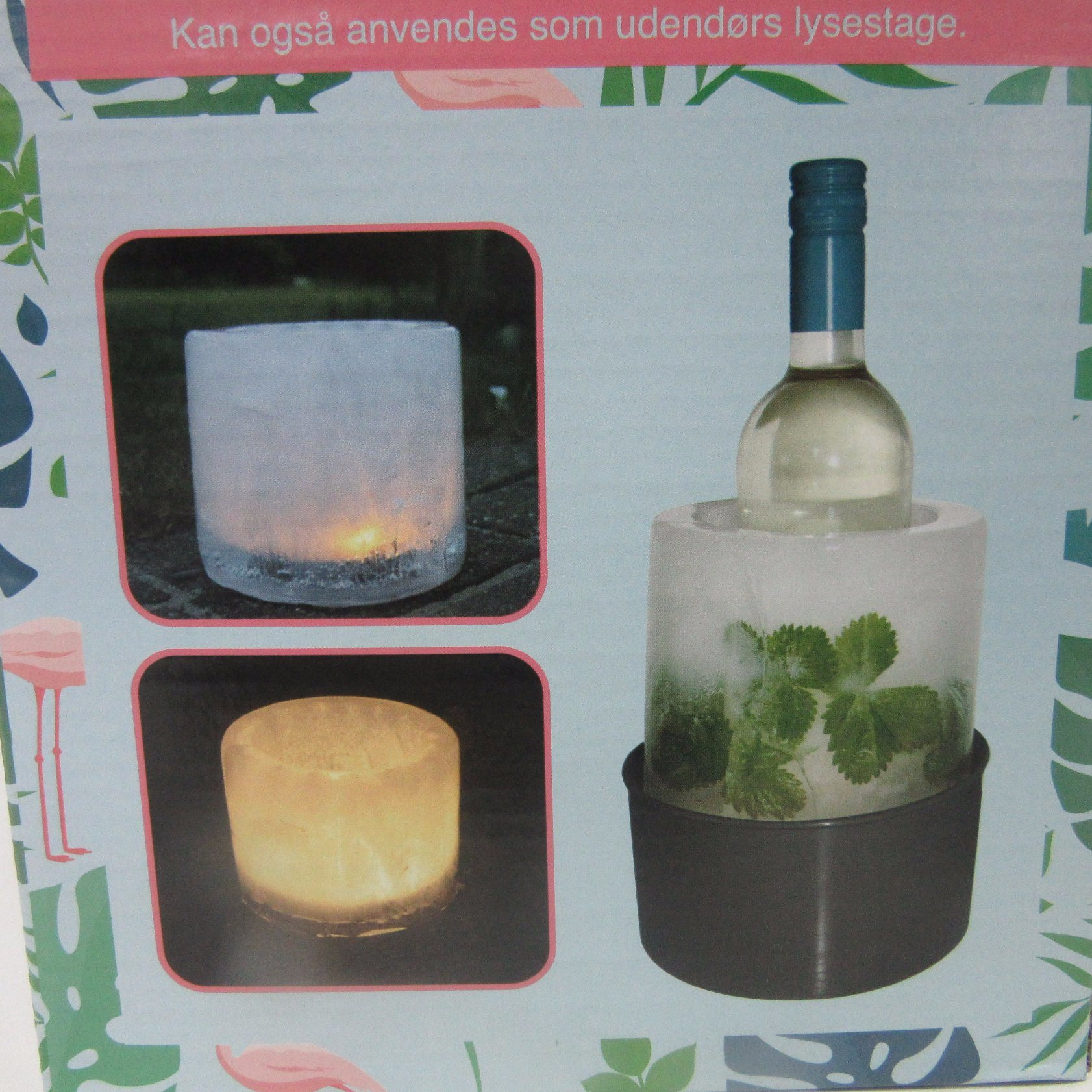 PP Plastic Ice Wine Cooler