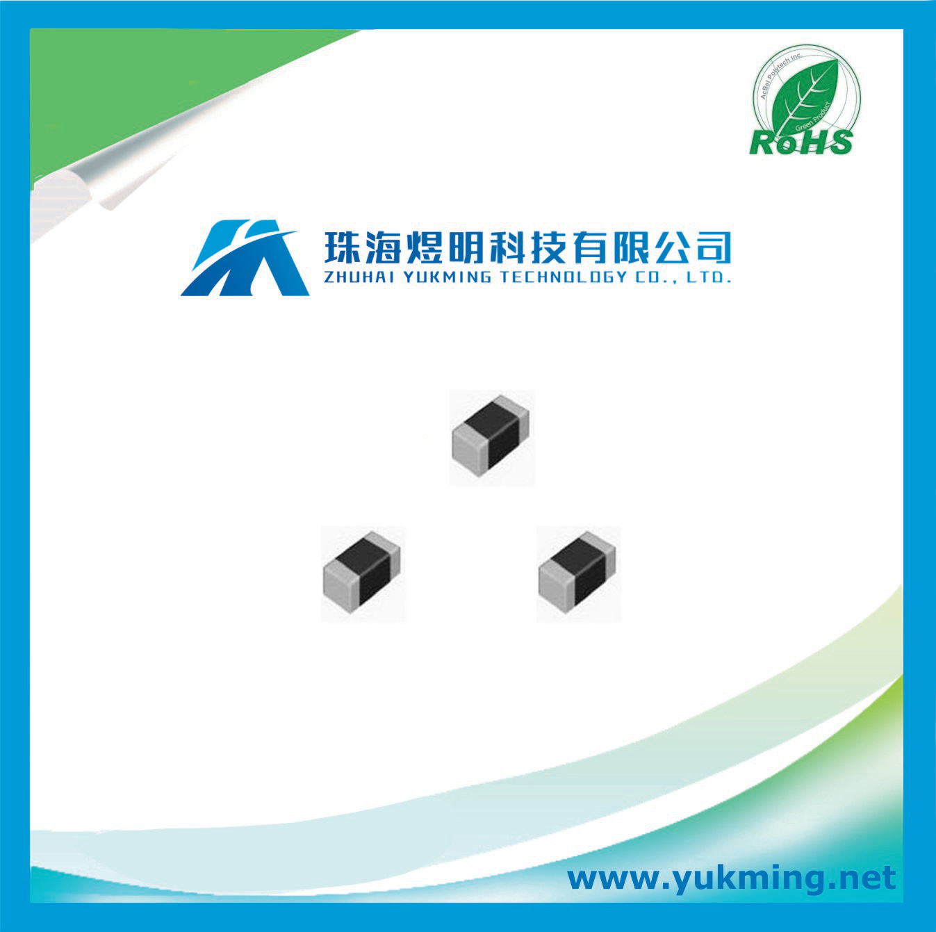 Electronic Component Power Chip Wirewound Inductor for PCB Assembly
