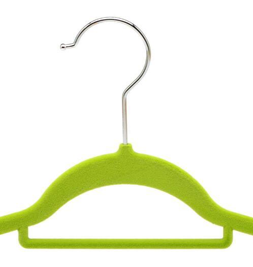 Velvet Flocked Suit Hanger with Notches (FSH101)