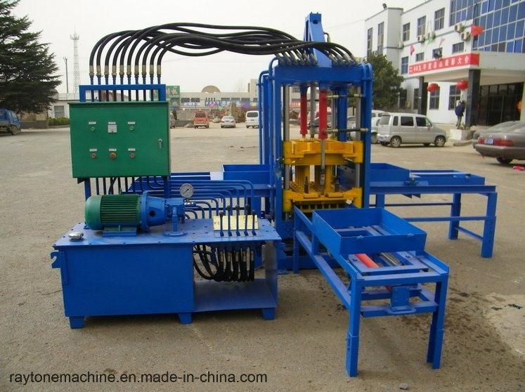 Qtf3-20 Automatic Concrete Color Paver Block Brick Making Machine