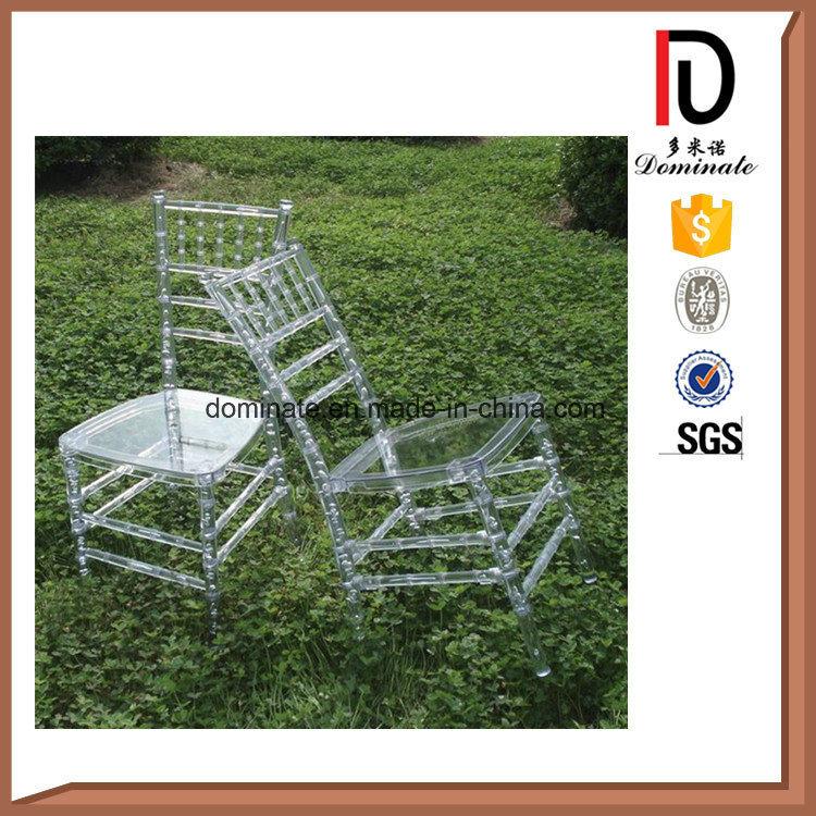 Stackable Clear Transparant Crystal Resin Tiffany Wedding Chiavari Chair (BR-RC005)