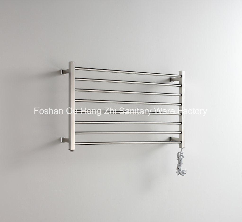 High Grade Stainless Steel 304 Bathroom Electric Towel Radiator