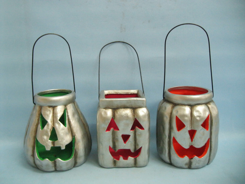 Halloween Pumpkin Ceramic Arts and Crafts (LOE2379-A13z)