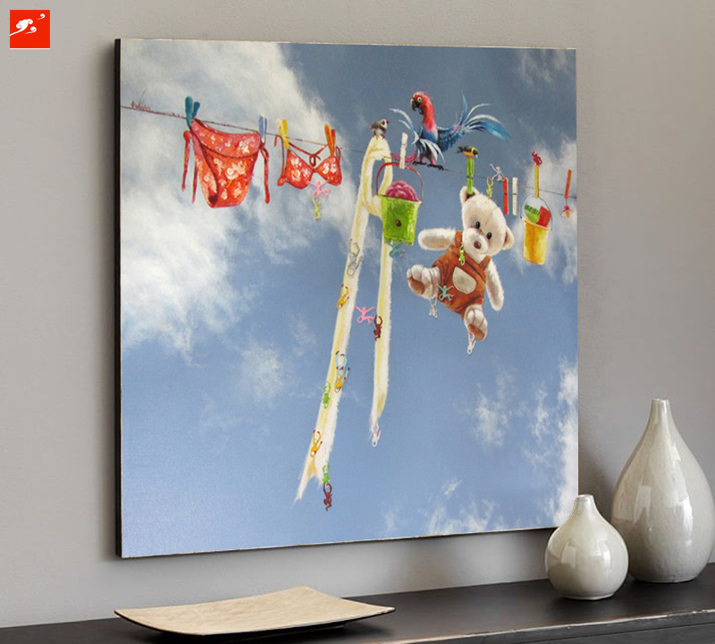 Carton Wall Picture Blue Sky Art Print