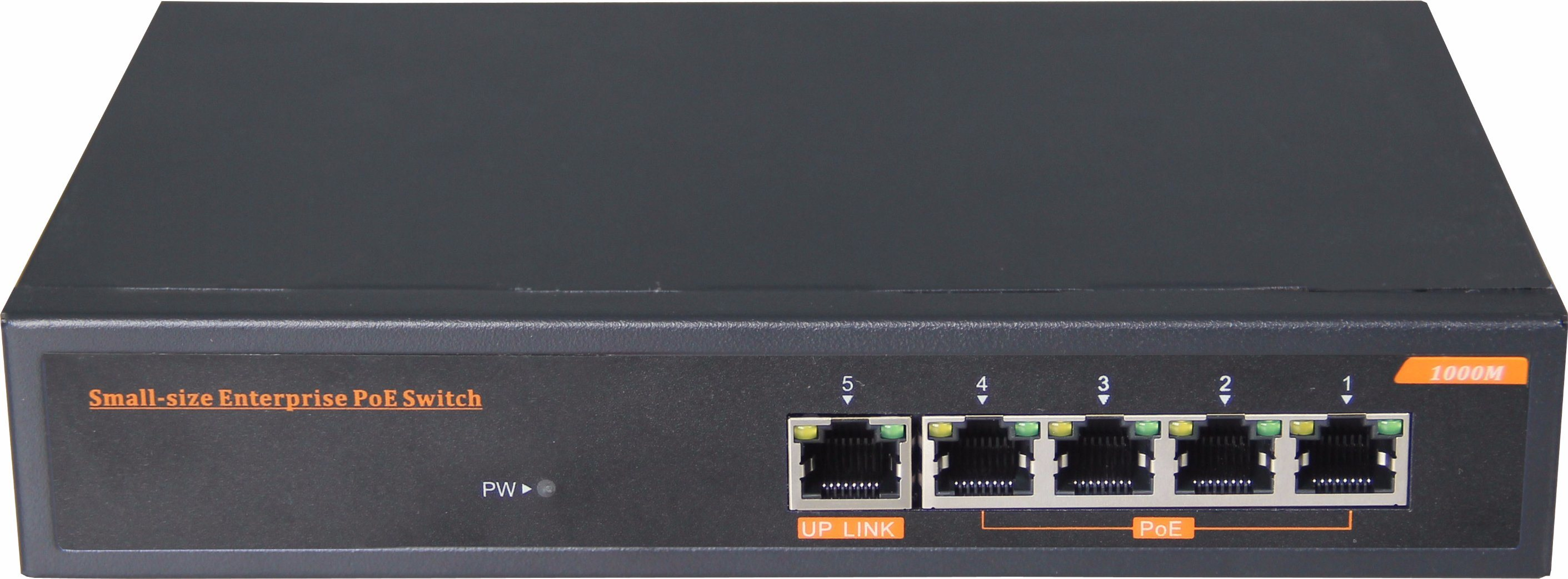 4 Gigabit Port Poe Ethernet Network Switch with 1 Uplink Port