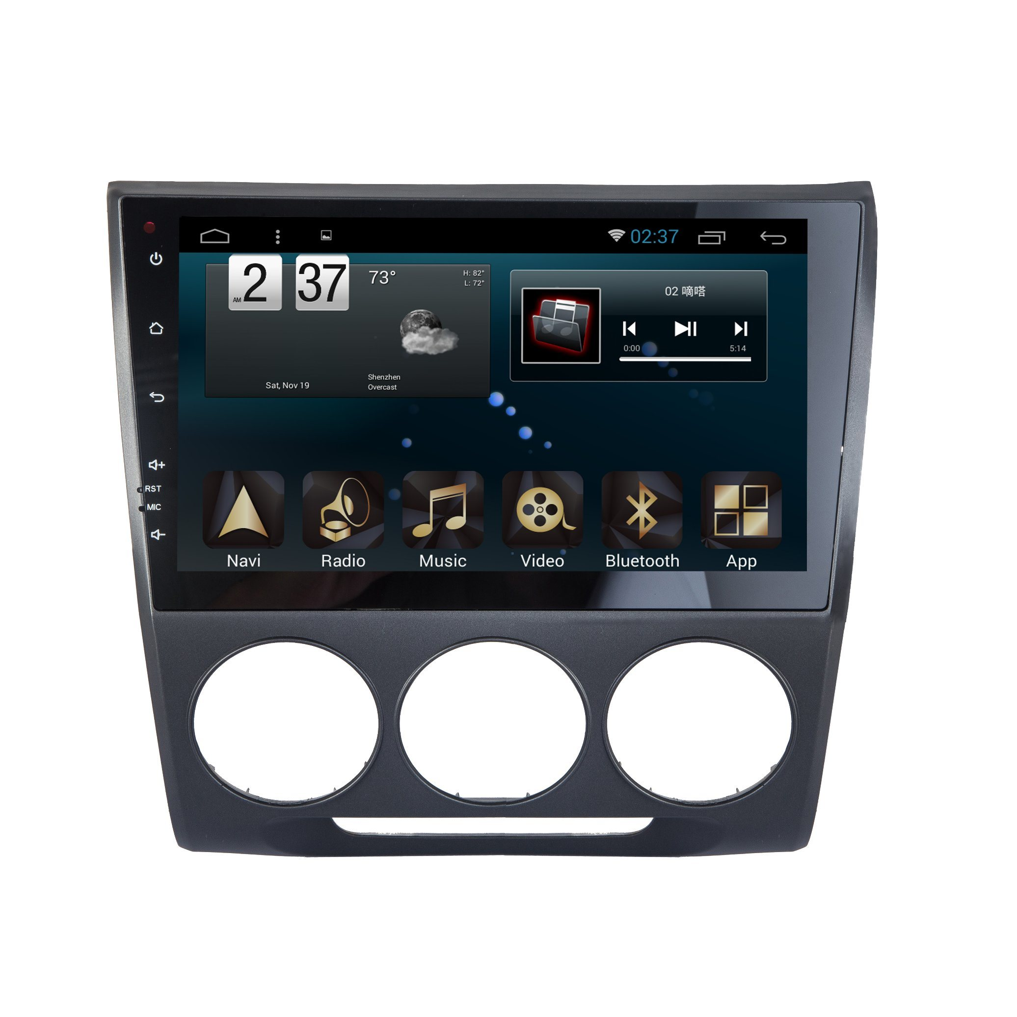 Android 6.0 System Car DVD GPS for Honda Crider 10.1 Inch Capacitance Screen with TV/WiFi/Bluetooth/MP4
