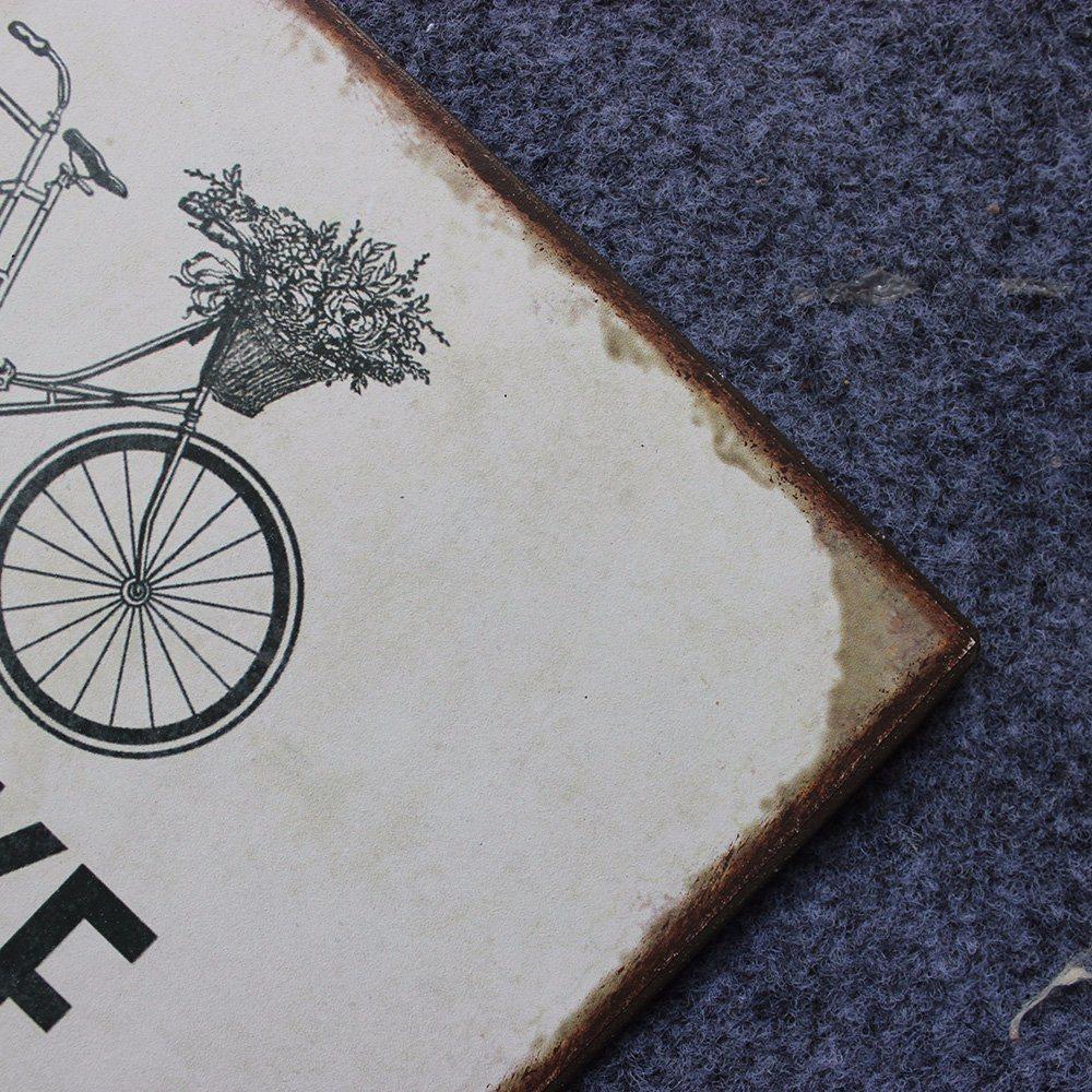 Handmade Home Decor Vintage Wall Tin Signs