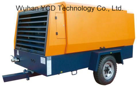Motor Driven Portable Screw Air Compressor (MSC710H) for Mining, Shipbuilding, Urban Construction, Energy, Military and Industries