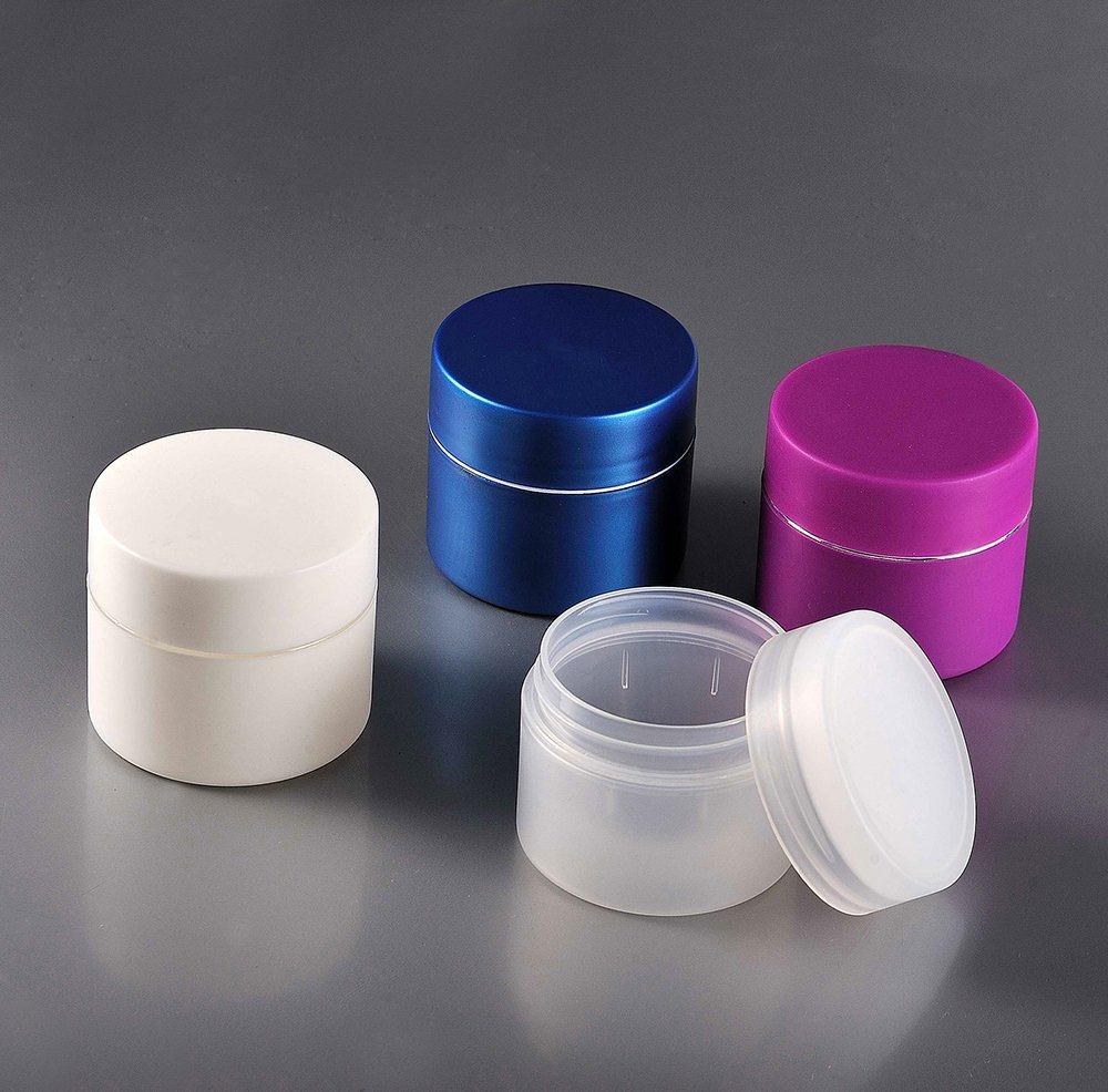 50ml Wooden Body Care Hair Gel Cosmetic Jar