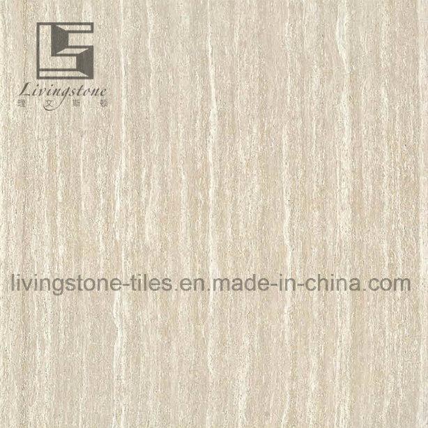 Grey Line Stone Polished Tile for Porject Tile
