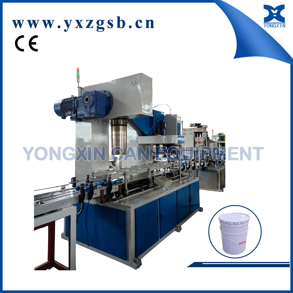 10-20L Round Pail Drum Can Making Machine