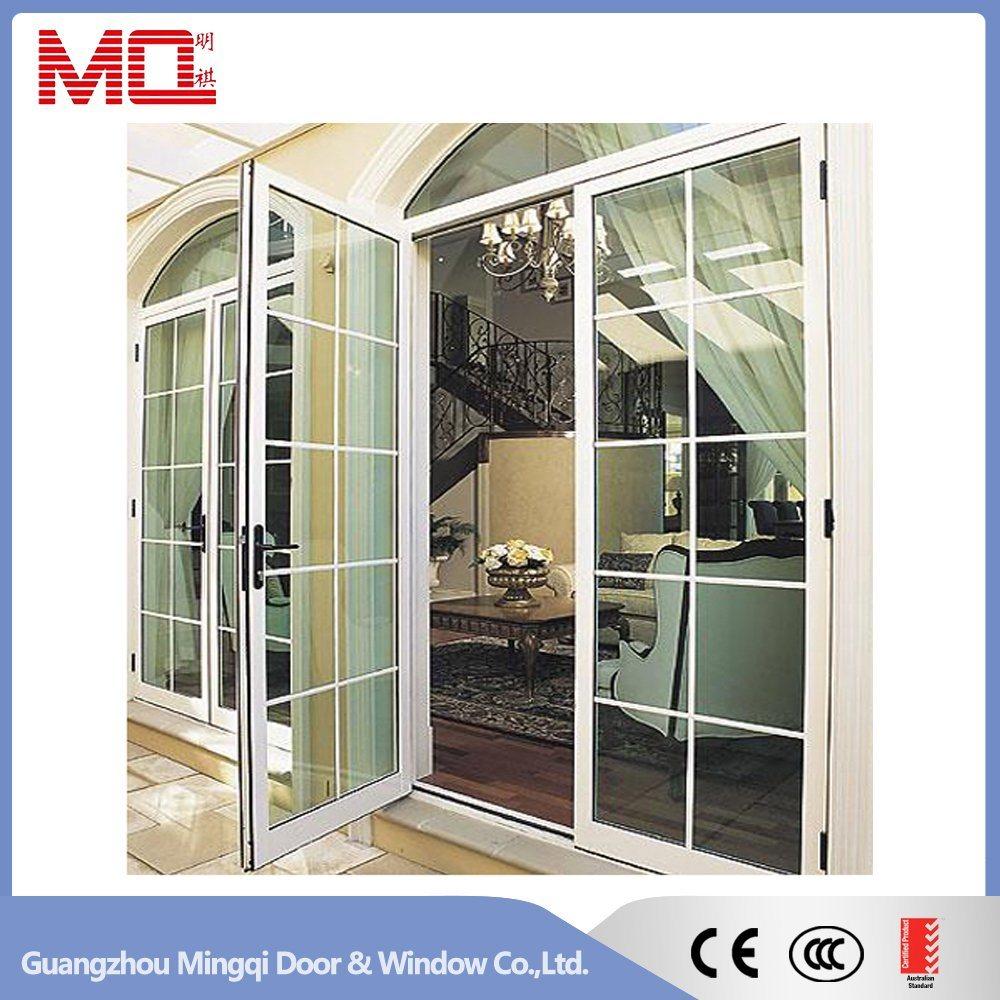 Aluminum Single Leaf Double Swing Door