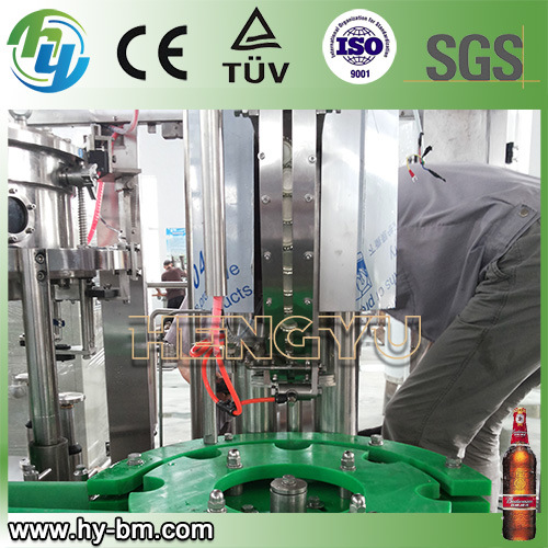3 in 1 Glass Bottle Beer Filling Machine