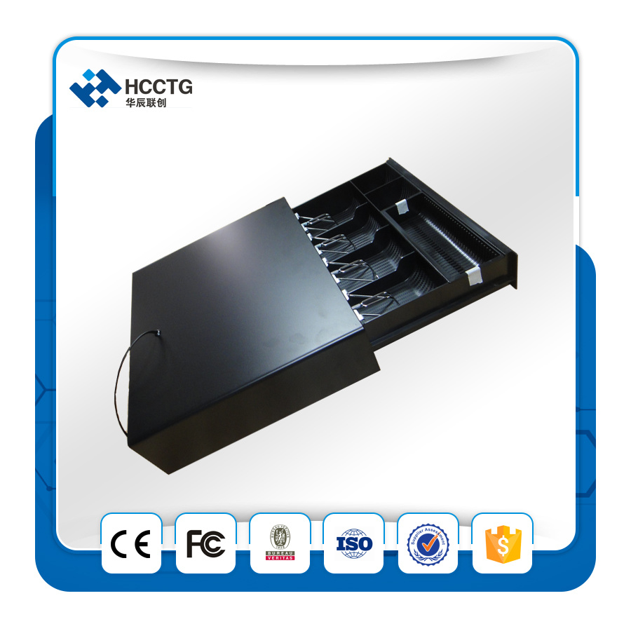 Cheapest Rj11 Three Locks Plastic POS Cash Drawer for Supermarket HS335