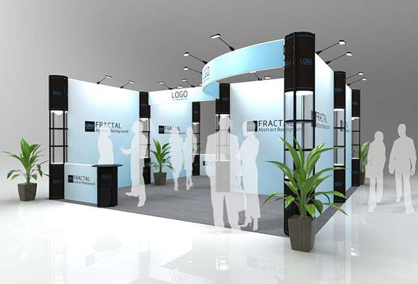 Custom Printed Trade Show, Portable Trade Show Booth
