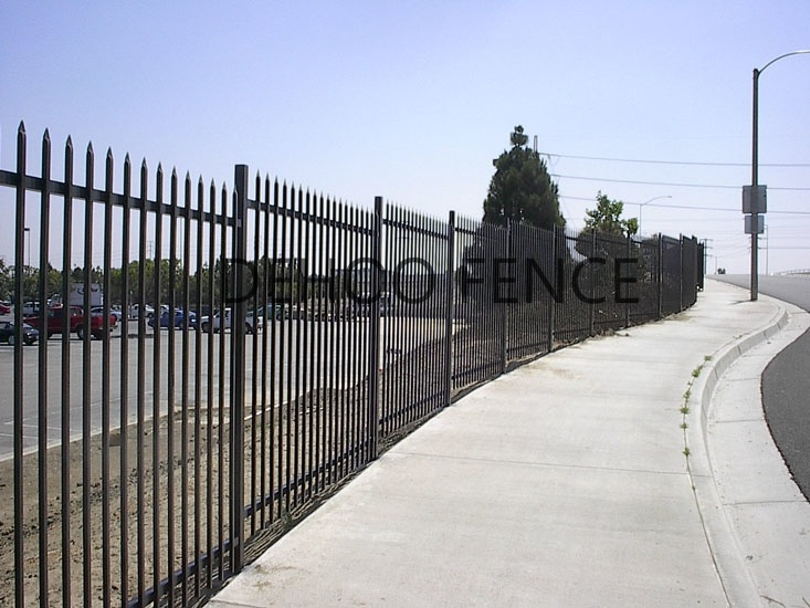 Ce/SGS High Strength Custom Commercial Fence for Security