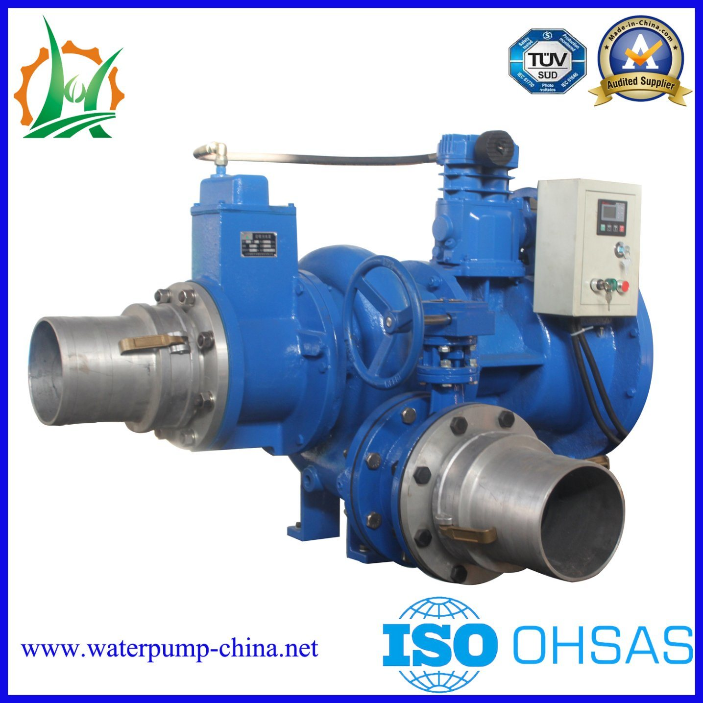 Big Flow Diesel Drive Dry Run Self Priming Centrifugal Pump