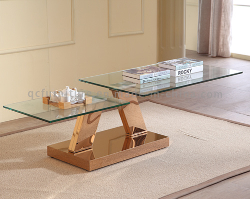 Glass Coffee Table Set Center Table Design Living Room Furniture