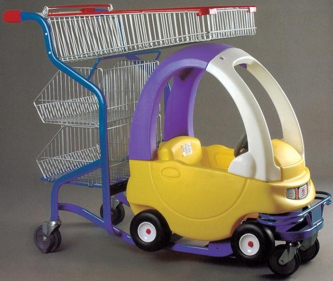 Supermarket Kids Shopping Trolley Shopping Cart