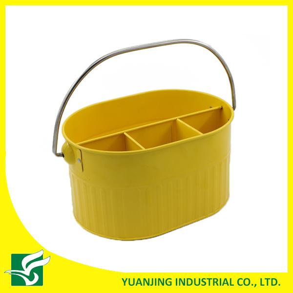 Blue Color Metal Storage Basket