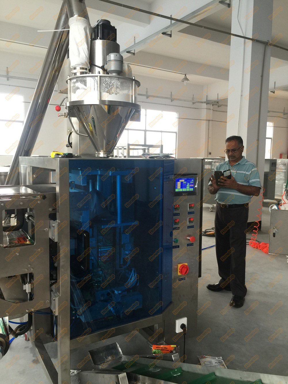 Vertical Powder Packing Machine for Milk