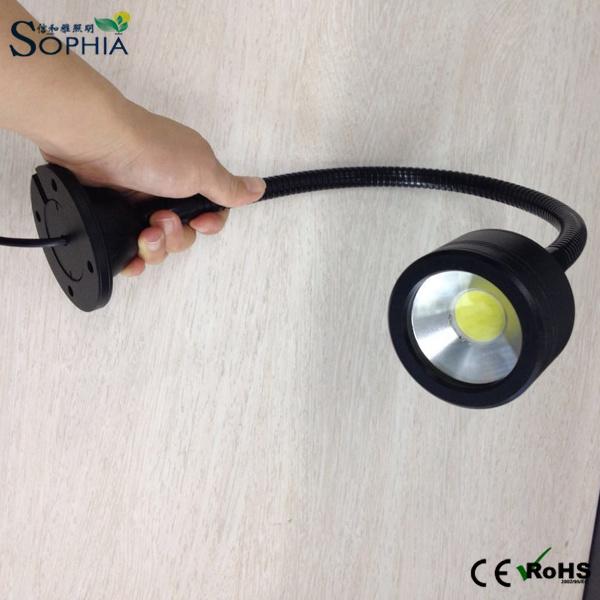 7W Flexible Lamp, Gooseneck Lamp, Sewing, CNC Machine Working Light
