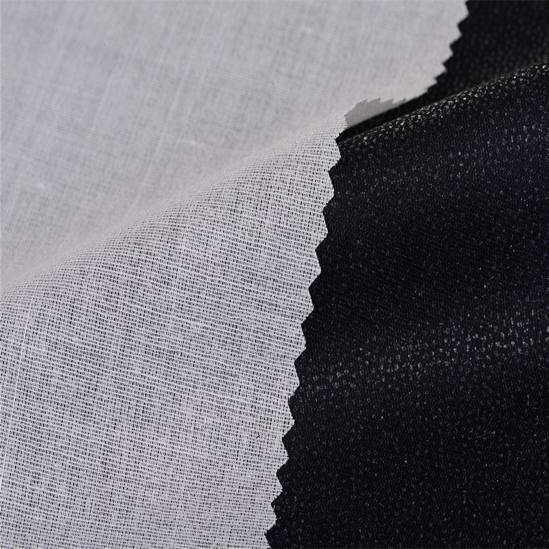 Woven Cotton Top Fused Buckram Interlining for Shirt Collar