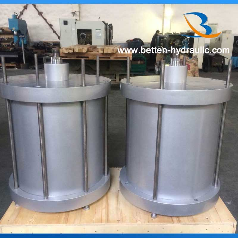 Custom made double acting air cylinder