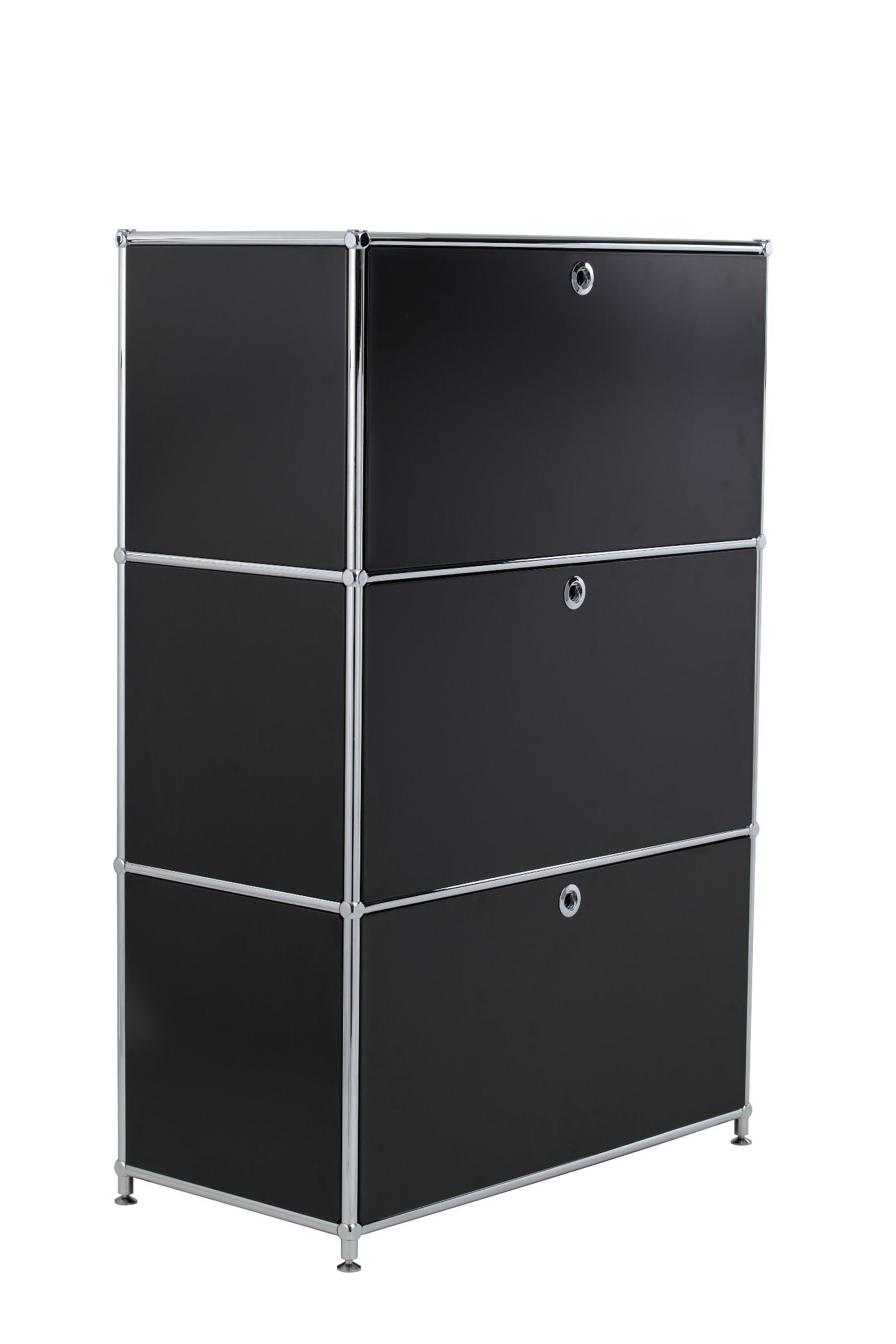 2017 New Sliding Door Stainless Panels Toy Display Steel Filing Cabinet