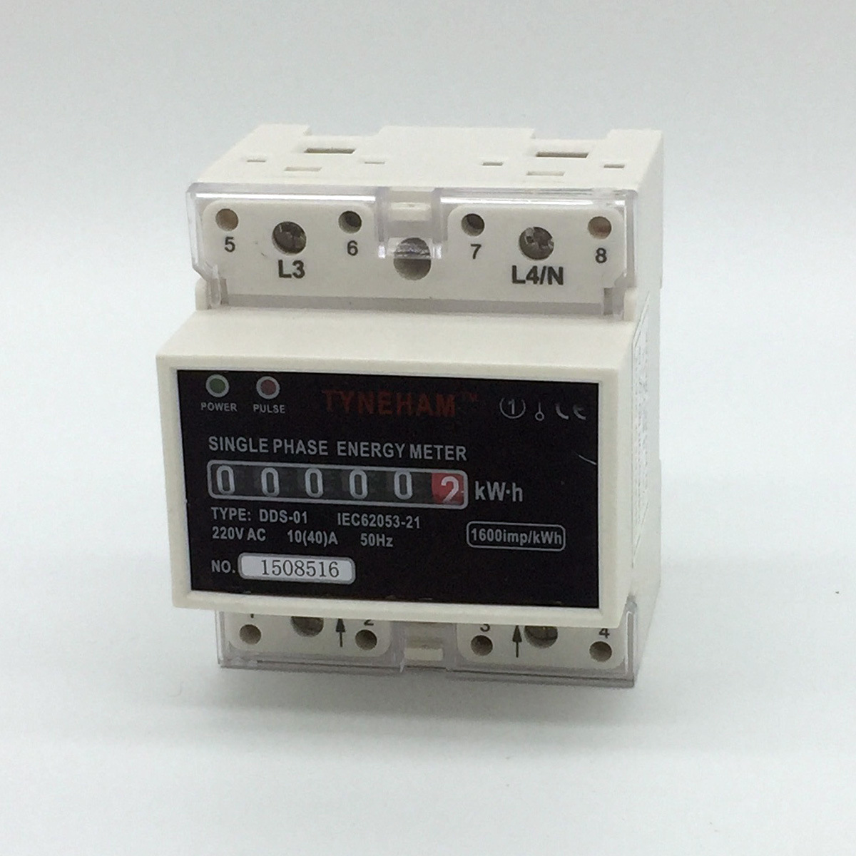 Dds-5r Series DIN Rial Mounted Single Phase Electronic Energy Meter