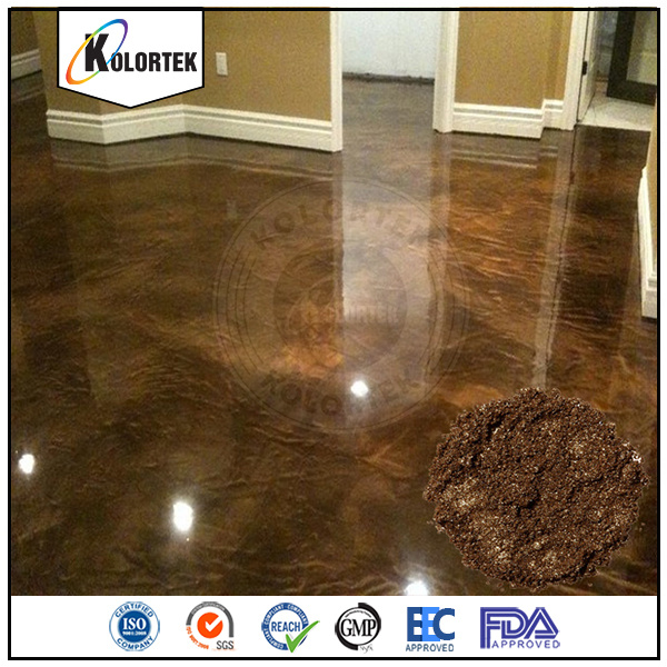Metallic Pearlescent Floor Coating Pigments