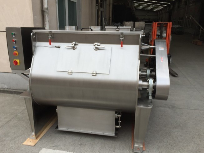 Horizontal Powder and Granule Paddle Mixer