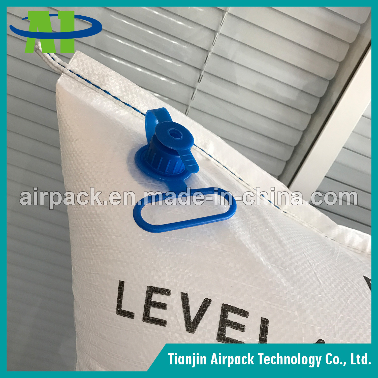 White PP Woven Dunnage Air Bag for Transportation