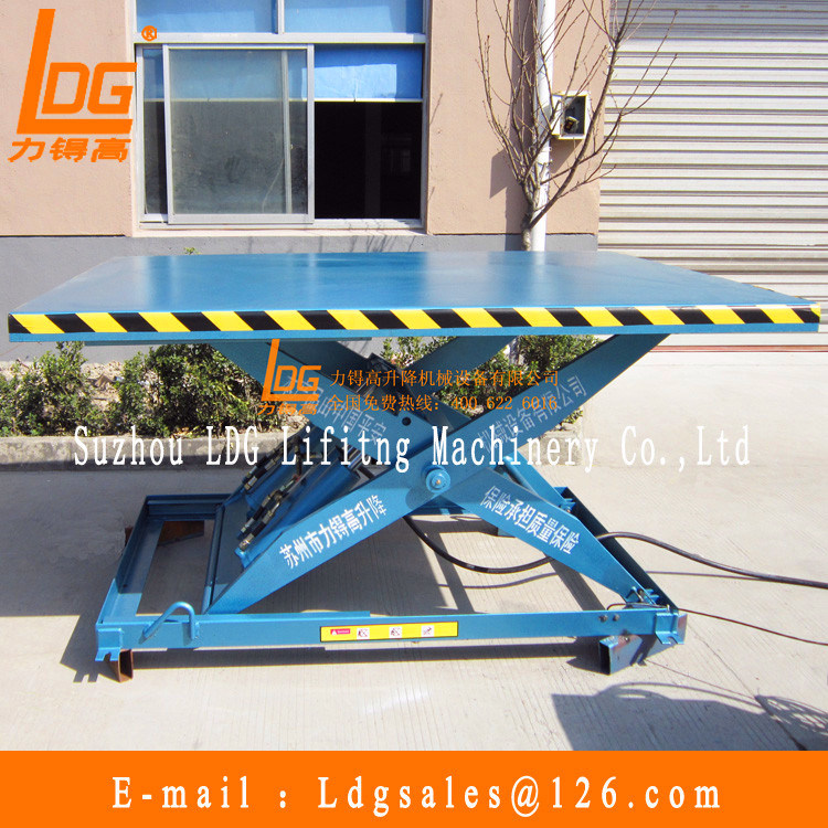 Hydraulic Scissor Lift Table (SJG2.65-1)