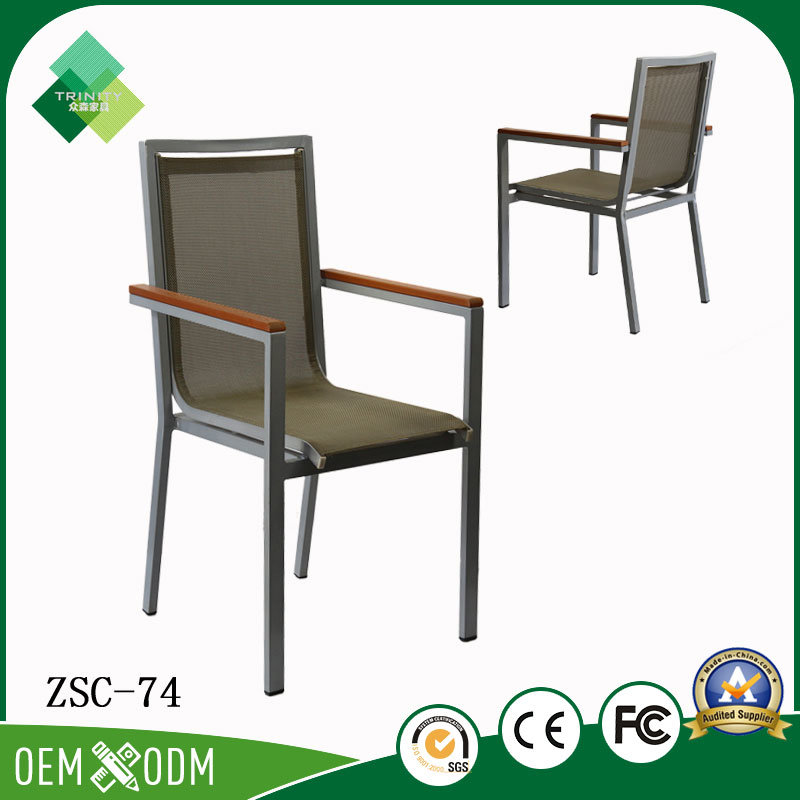 Janpanese Style Metal Chair for Outdoor in Steel (ZSC-74)