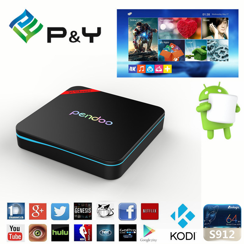Set Top Box Pendoo X9PRO S912 2g26g RAM