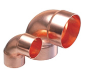 Copper Fitting,  Tee, Elbow, Coupling, Available in Various Sizes