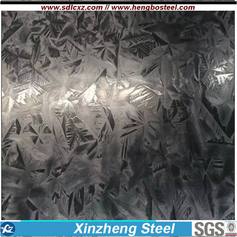 Q235B Building Material Galvanized Steel Coil with Big Spangle