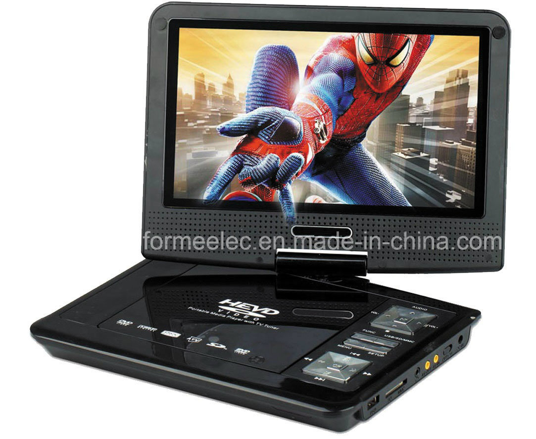 """9"""" Portable DVD Player with TV Game FM Radio"""