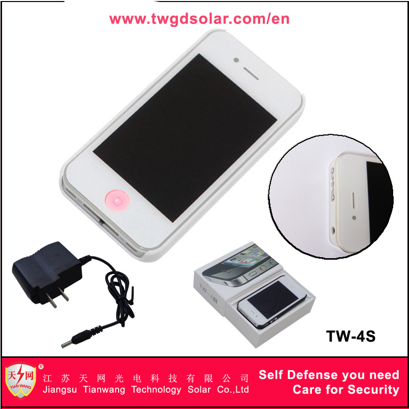 Mobile Phone Type Women Self Defense Stun Guns with Electric Torch (TW-4S)