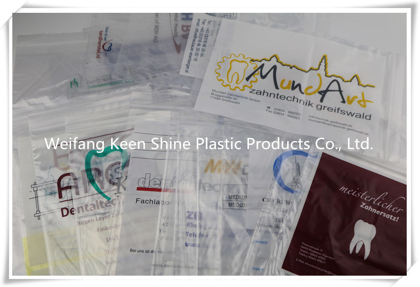 LDPE Cangaroo Reclosable/ Zipper Poly Bag