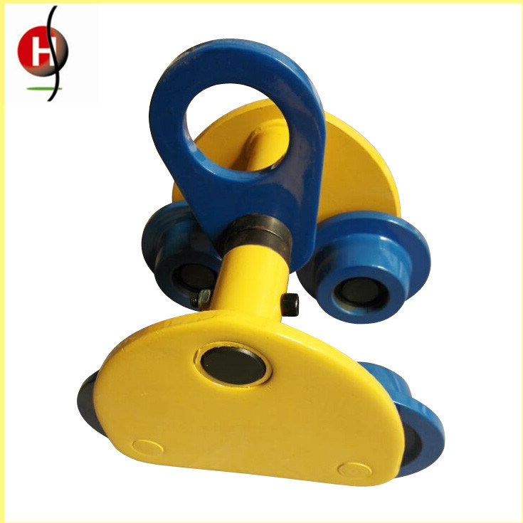 Hot Sale 3t Manual Plainted/Geared Trolley for Chain Block and Electric Chain Hoist