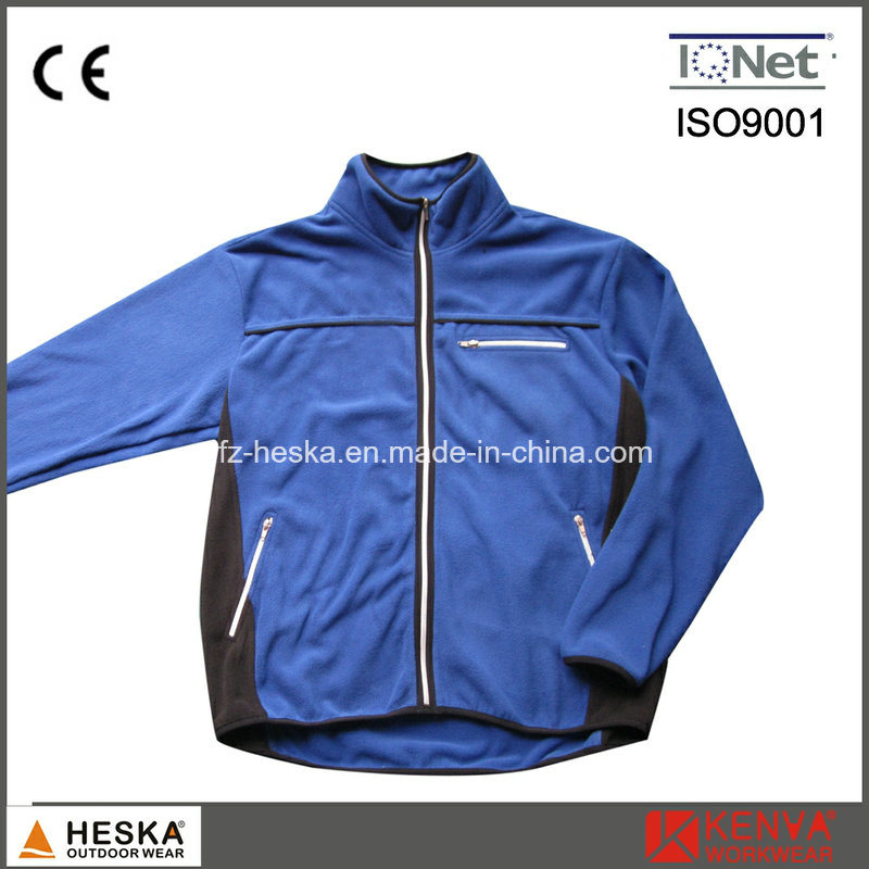 Hot Selling Mens Casual Outdoor Garments Polar Fleece Jacket