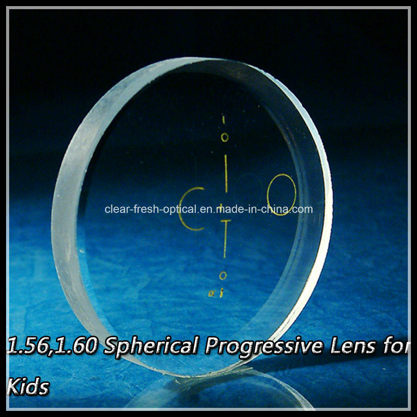 1.56, 1.60 Spherical Progressive Lens for Kids