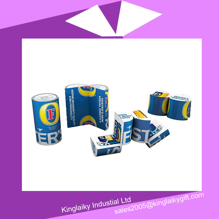 Folding Cylinder Magic Cube Calendar with Branding Mc016-004