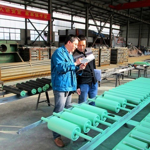 Durable Belt Conveyor Polyethylene Roller, Roller Conveyor