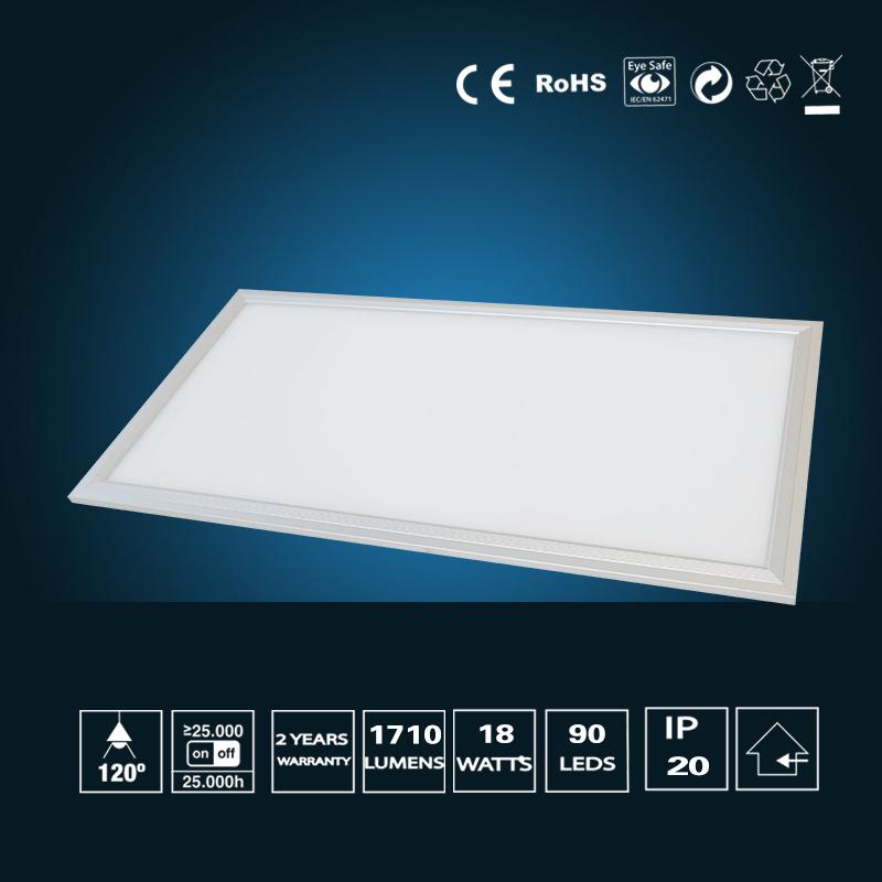 18W LED Panel Light 295*595mm