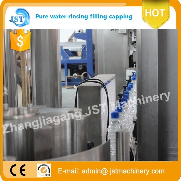 Automatic Aqua Beverage Filling Machine for Plastic Bottle